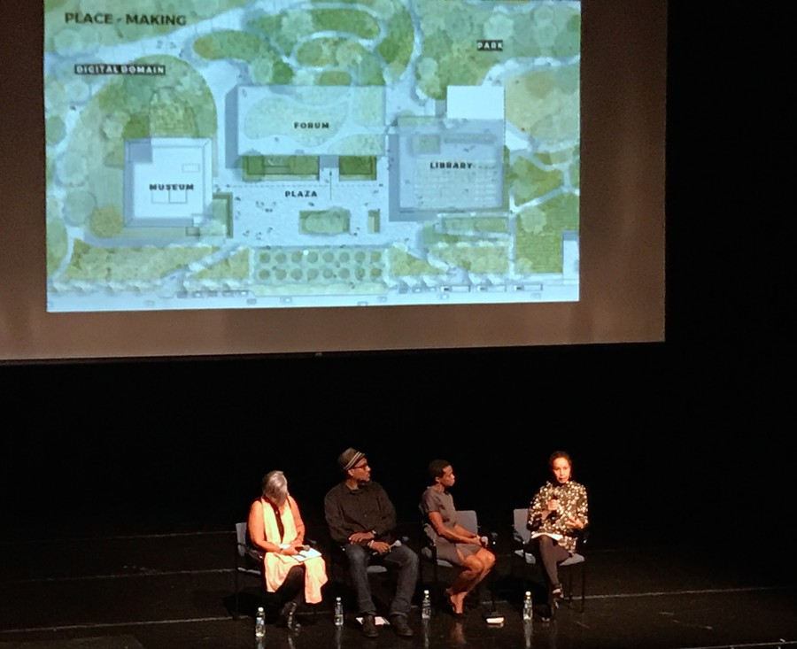 Panelists discuss the future of the Obama Presidential Center.