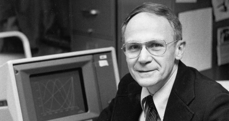 David Lee Wallace, Professor Emeritus in 1978 at the University.