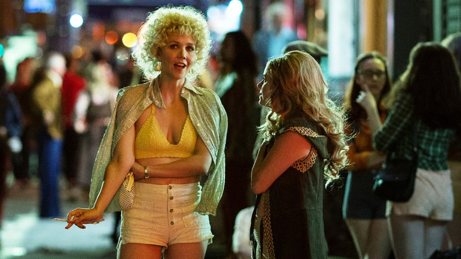 "Maggie Gyllenhaal is a producer of ""The Deuce"" and stars as Candy, an entrepreneurial prostitute in Times Square in the 1970s."