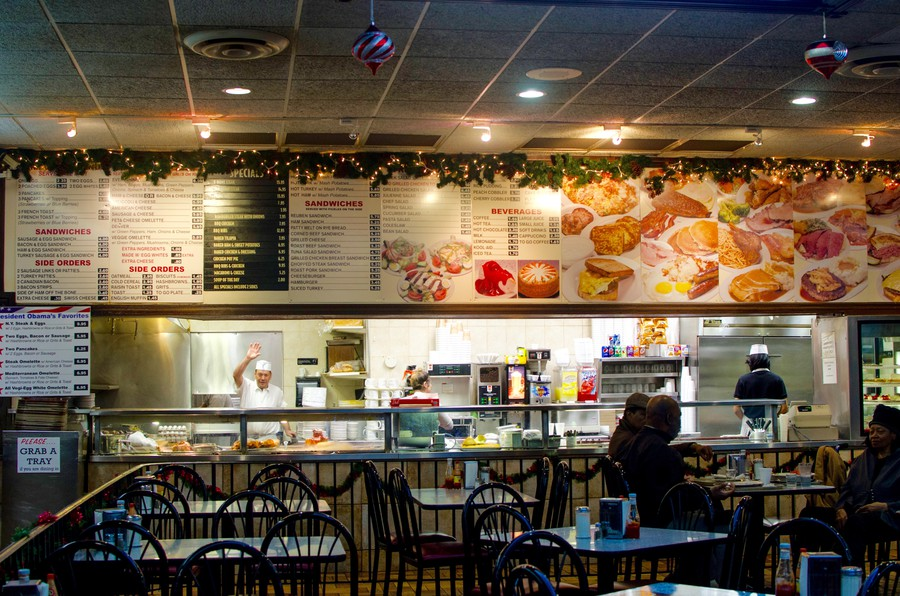 Obama's favorite restaurant, Valois.