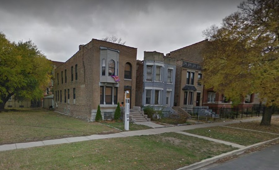 The Epsilon Club house, located on 61st Street and South Ellis Avenue