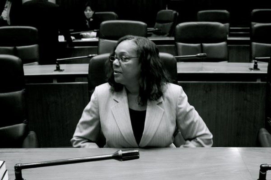 Leslie Hairston, who represents much of Hyde Park, was vocal in her opposition to TIF support for Presence Health Care.