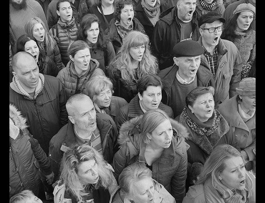 """Hrvoje Slovenc """"Church Choir #3"""" 2014"""
