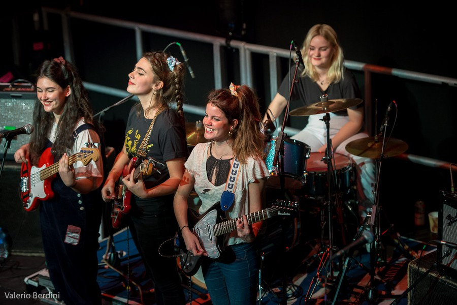Hinds playing at the Cambridge Junction in 2016.