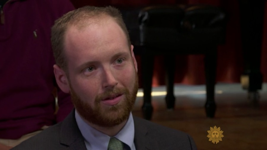 Edmund Burke Society Chairman Eric Wessan (AB '14) on a CBS News special addressing free speech at the University of Chicago.
