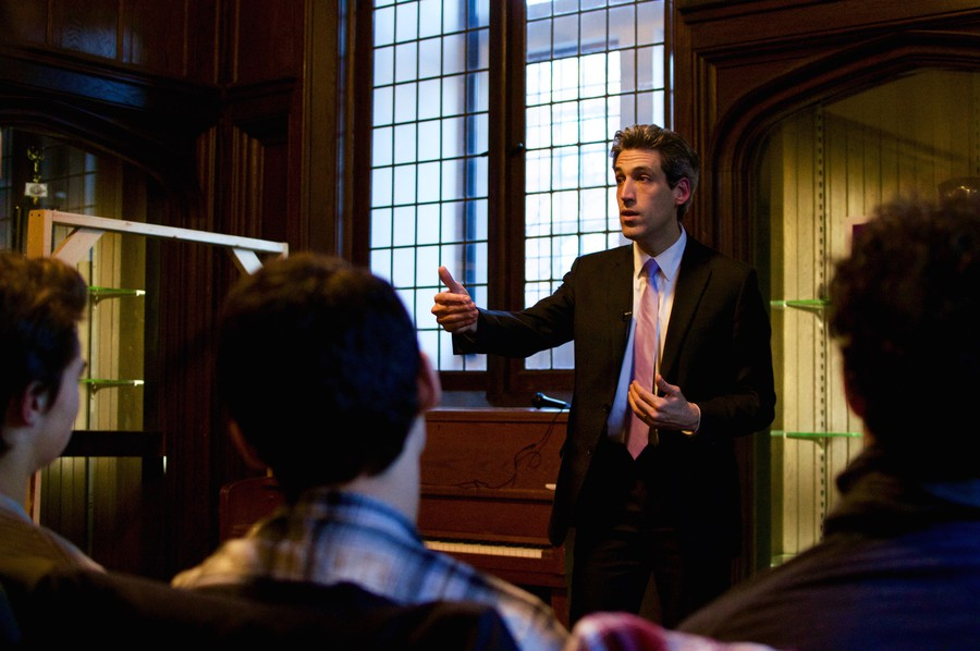 Daniel Biss, who is running for the Democratic nomination for governor of Illinois, discusses his campaign.
