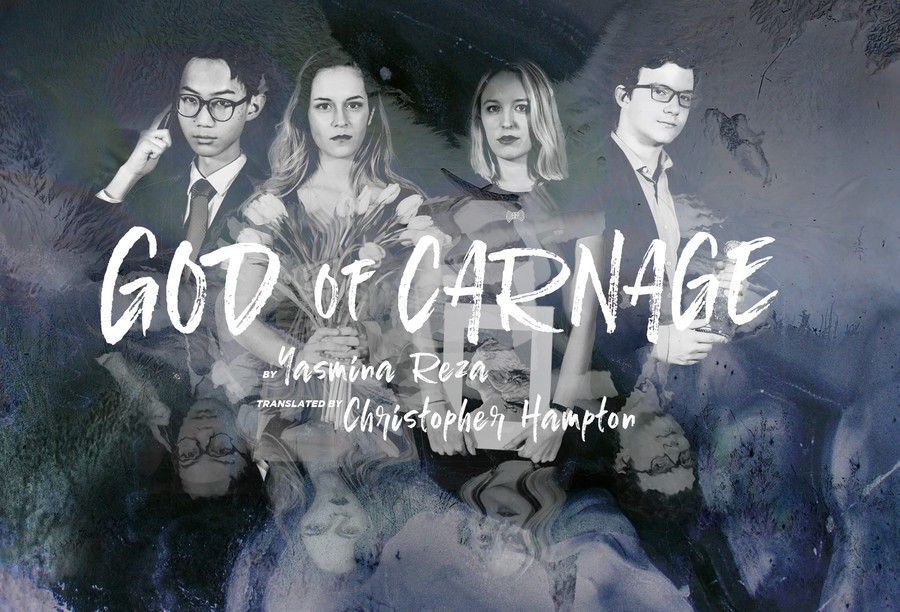 "The cast of ""God of Carnage."""