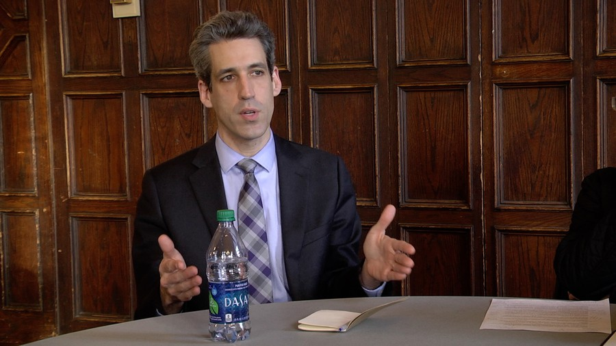 Daniel Biss sat down with the Maroon Editorial Team earlier this month.