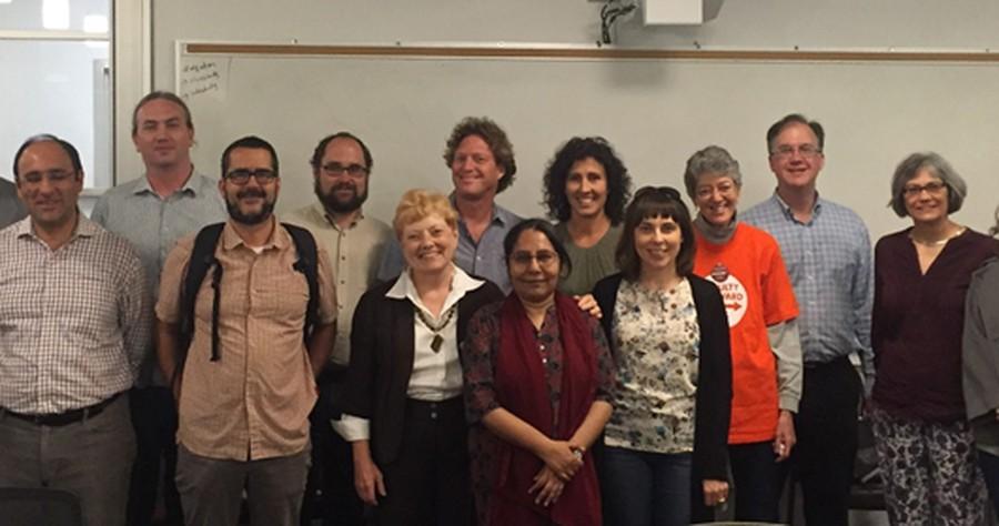 Faculty Forward's bargaining team
