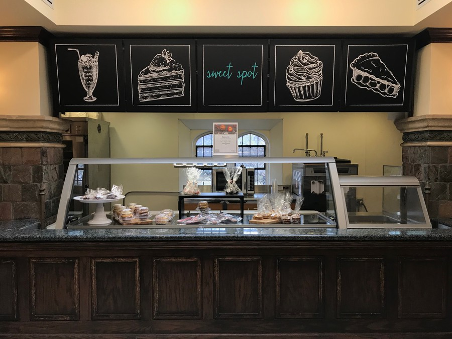 The Sweet Shop at Hutch Commons, to be replaced by Mr. Pak's Sushi and Poke.