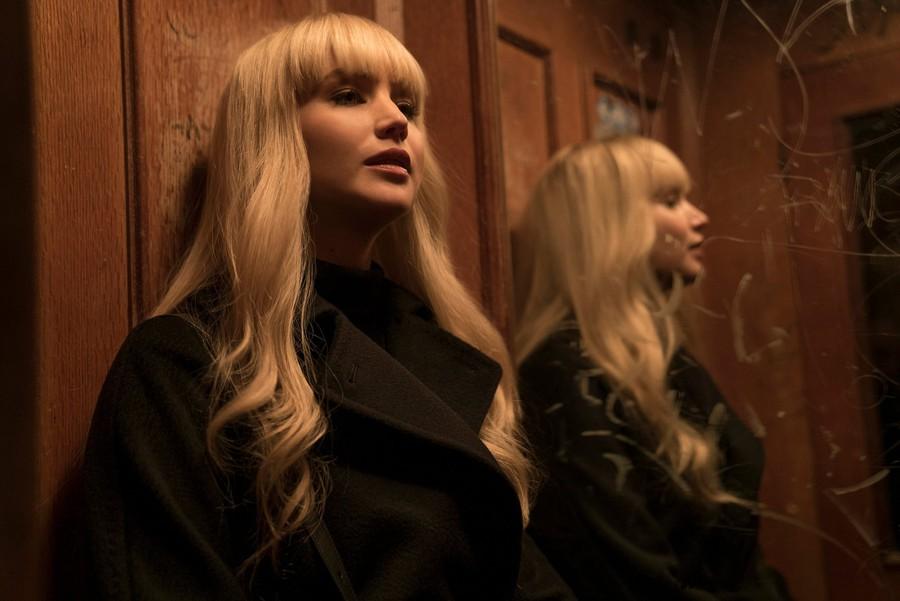 Jennifer Lawrence stars in Francis Lawrence's latest spy thriller.