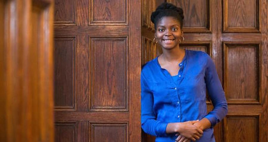 Fourth-year Ade Ayoola