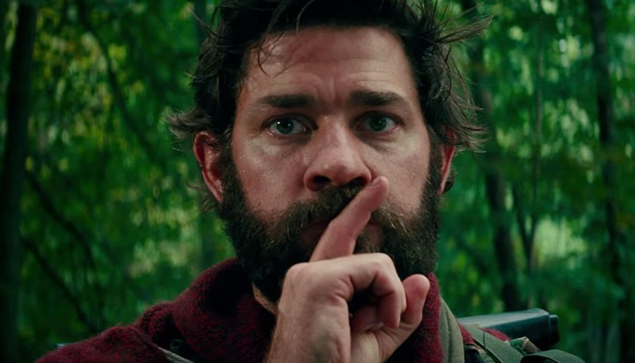 John Krasinski stars in the film, which demands that characters approach any noise with the utmost caution.