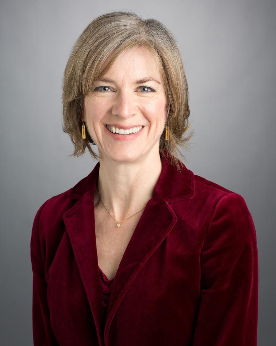 RNA structural biologist Dr. Jennifer Doudna.