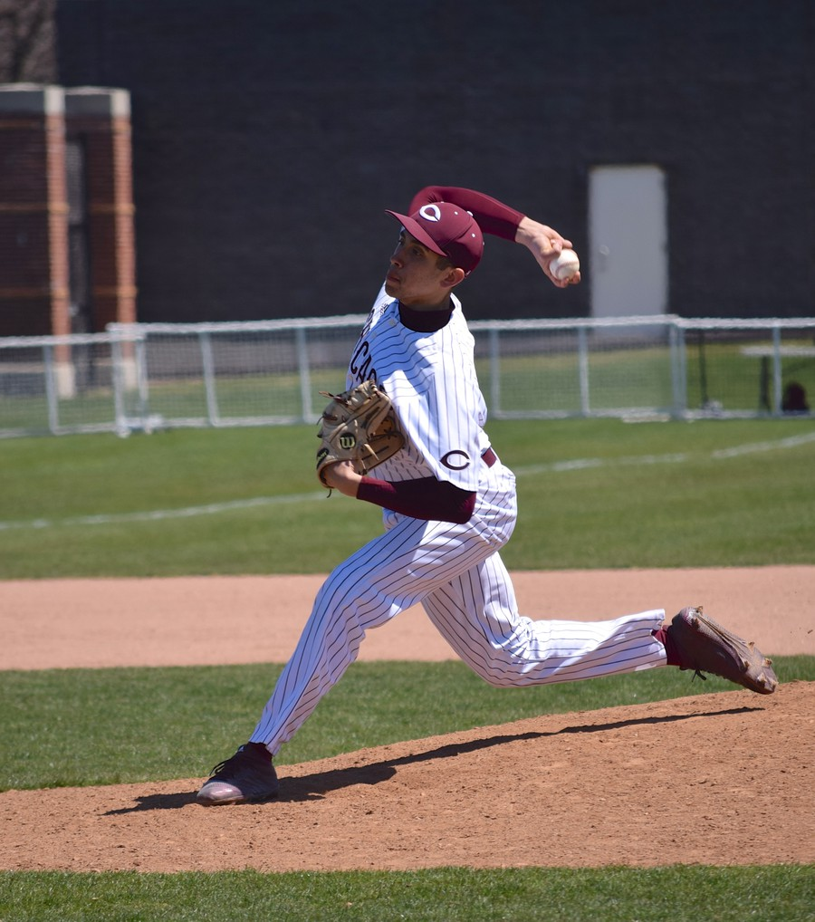 Fourth-year Ricardo Fernandez on the mound in a previous game.