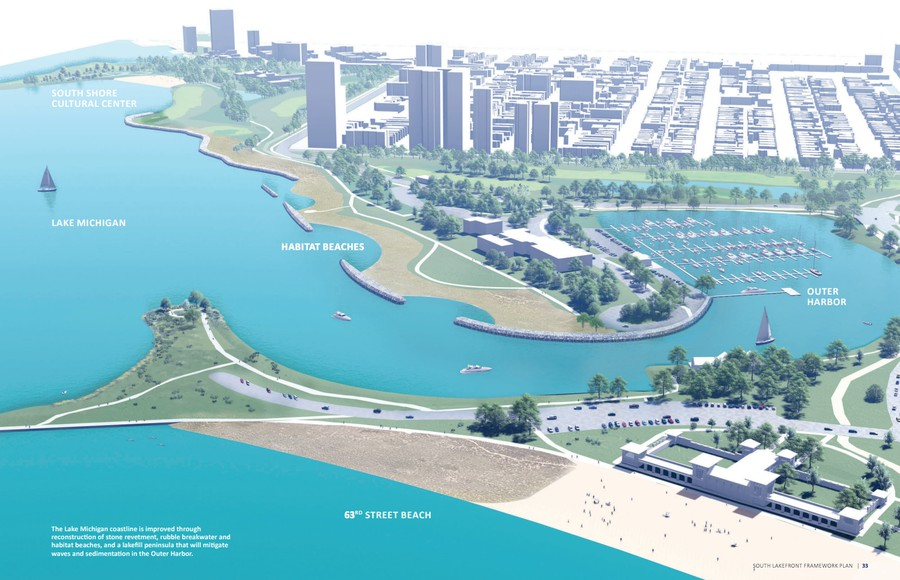 The newly-proposed changes include deepening the Columbia Basin, reintroducing recreational boating to the basin, and bringing back Jackson Park's old canal and lagoon system.
