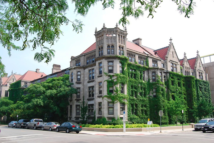 The Snell-Hitchcock dorm on campus.