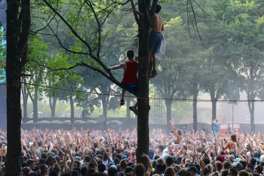 Lollapalooza attracted more than 100,000 each day to the music festival in Grant Park on August 2-5.
