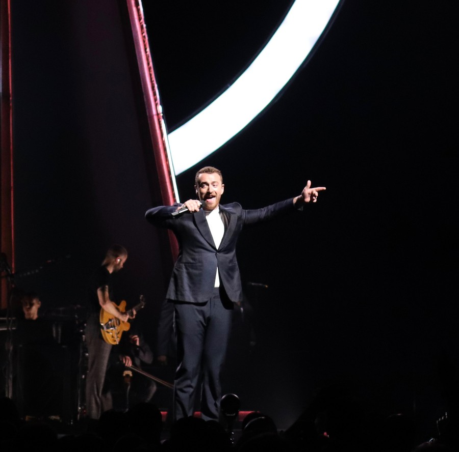 "Sam Smith performs at the United Center for ""The Thrill of it All"" tour"