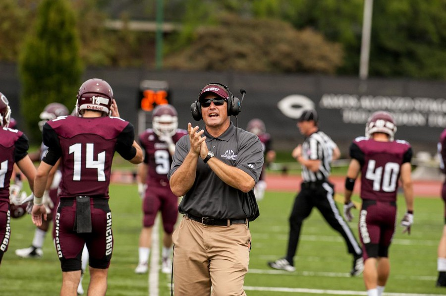 Chris Wilkerson has been the head coach of the Maroons for six seasons.