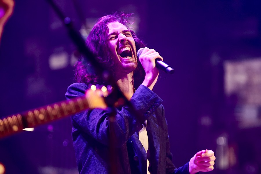 Hozier's North American tour includes stops in New York (pictured here), Chicago, LA, and more.