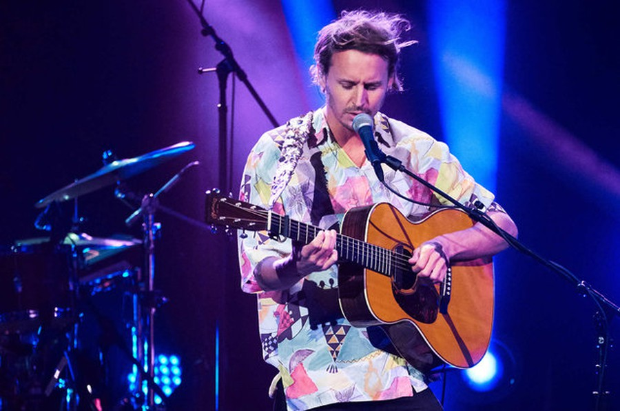 Ben Howard performed at the Riviera last Wednesday.