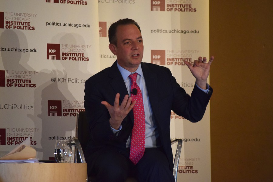 In addition to midterms and President Trump's rhetoric, Priebus speculated what Democrats might pose the biggest threats during the 2020 presidential election.