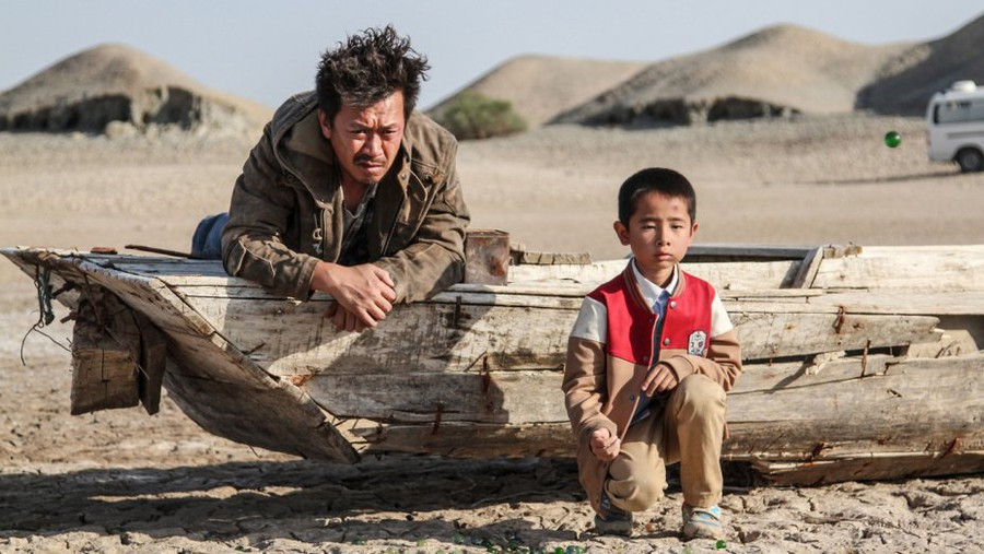"Gaopeng Tang's ""The Road Not Taken,"" a Western set in China's Gobi Desert"
