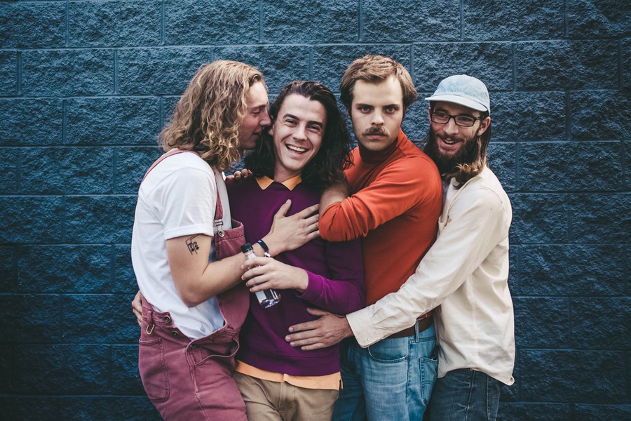 Peach Pit played at Schubas last Wednesday.