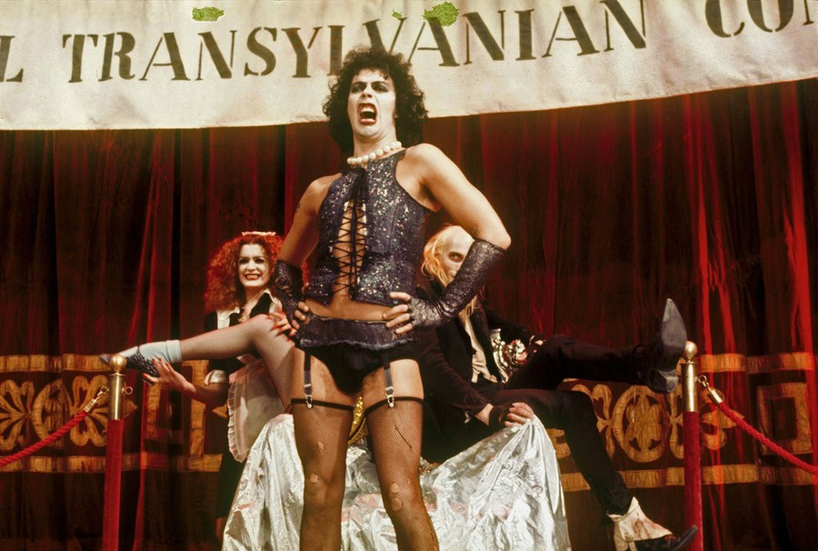 """Tim Curry in """"The Rocky Horror Picture Show"""""""