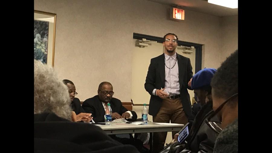 Aldermanic candidate Kevin Bailey, 20th ward Democratic Committeeman