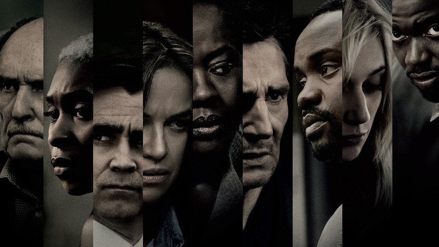"Created by director of ""12 Years a Slave"" Steve McQueen and ""Gone Girl"" author Gillian Flynn, ""Widows"" features Viola Davis and Liam Neeson among its protagonists."