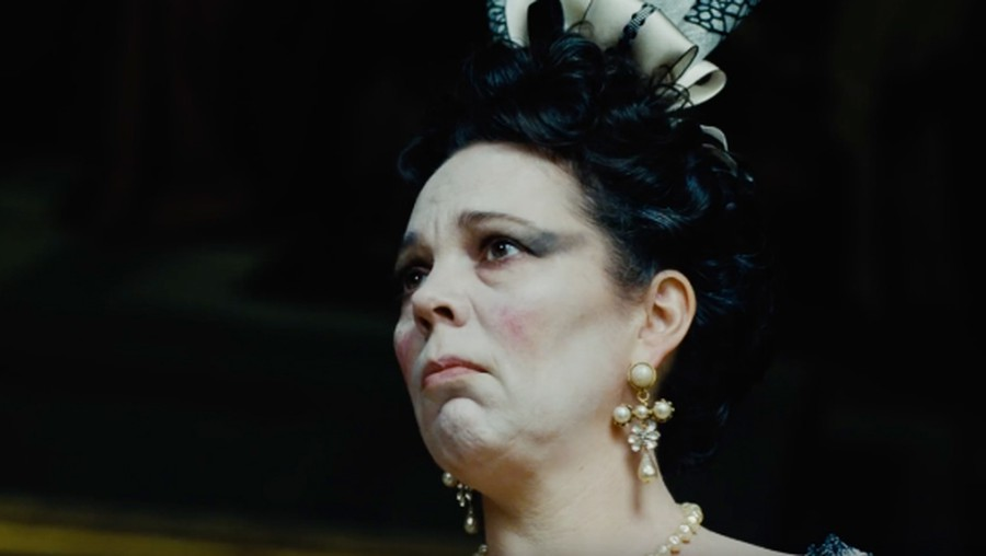 """""""The Favourite"""" received five Golden Globe Award Nominations, including Best Actress for Olivia Colman, who played Anne, Queen of Great Britain."""