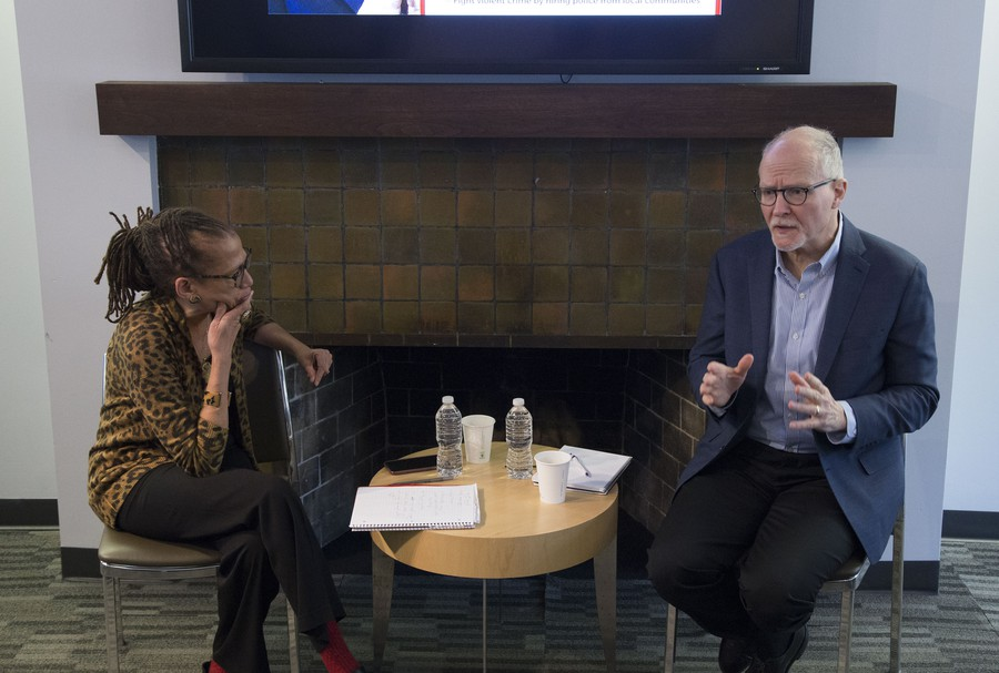 Paul Vallas sits down with Sun-Times columnist Laura Washington.