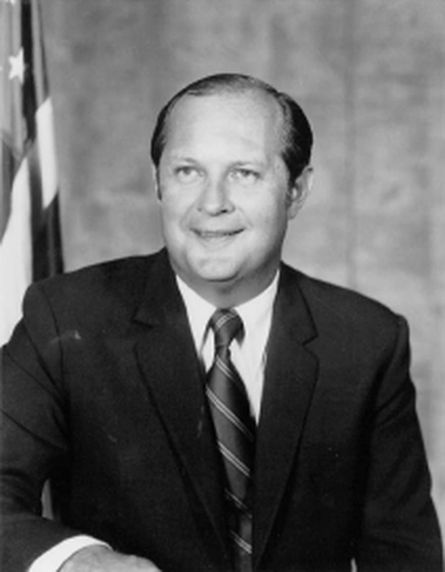 Douglas Costle (J.D. '64).