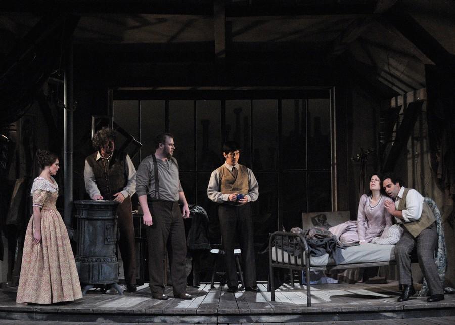 La Boheme at the Lyric Opera in Chicago