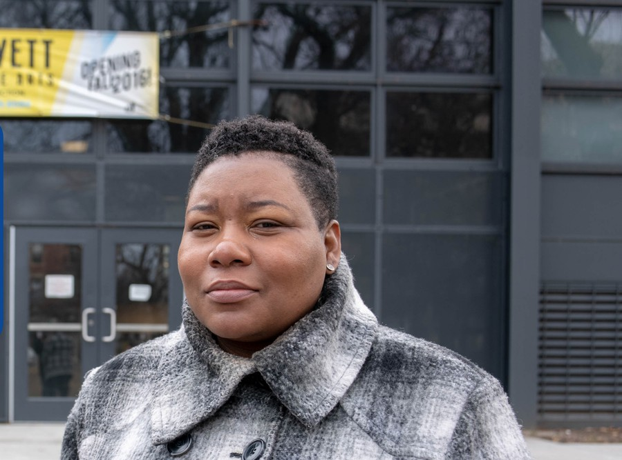 Jeanette Taylor has made her experience as a community organizer a key point in her campaign for alderman of the 20th ward.
