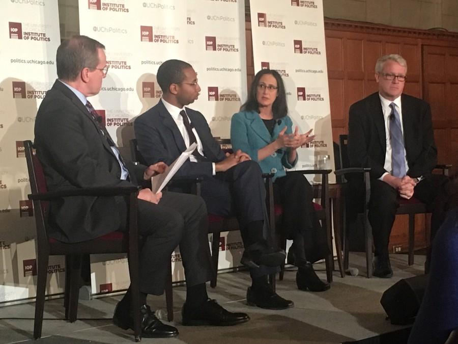 James Durkin, Christian Mitchell, and Lisa Madigan talk new governor J.B. Pritzker.