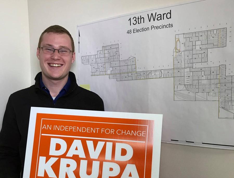 Krupa is a freshman at DePaul University.