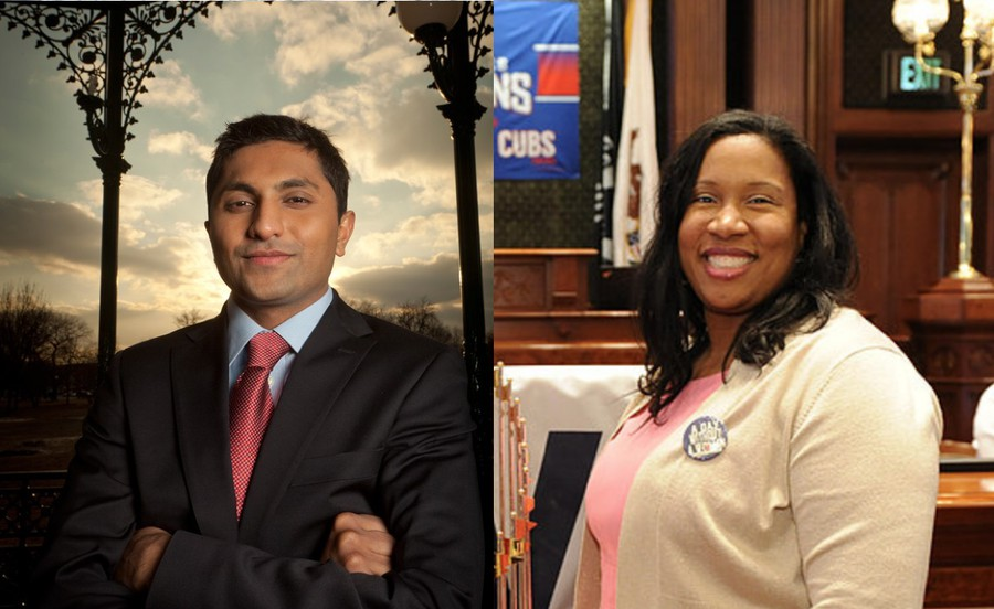 Melissa Conyears-Ervin, State Representative for the 10th district, will face 47th Ward Alderman Ameya Pawar (S.M. '09, A.M. '16) in an April 2 runoff election for Chicago treasurer.