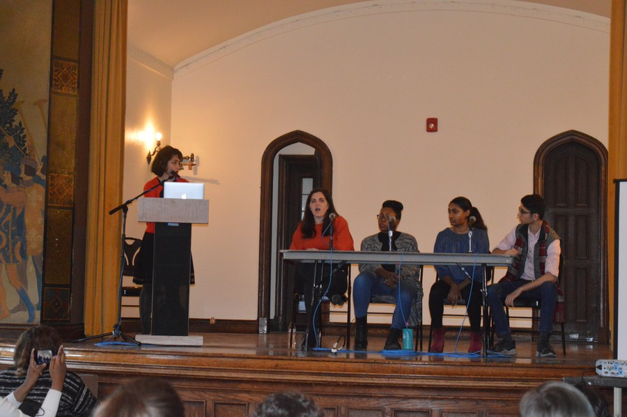 A panel of students and alumni discussed the University's Title IX policy.