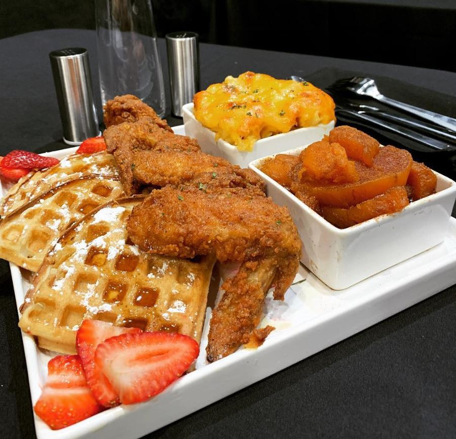 Soul Shack's Chicken and Waffles.