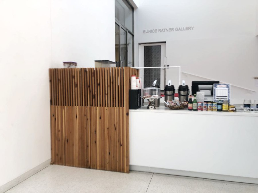 Miriam's Cafe is located in the Smart Museum of Art.