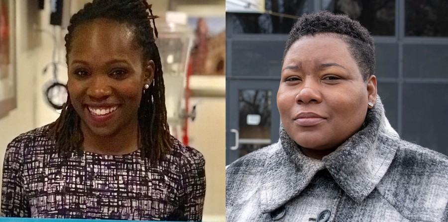 Nicole Johnson (left) and Jeanette Taylor (right) beat out seven other candidates in February.