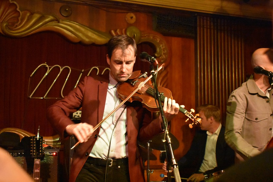 Andrew Bird plays at the Green Mill.