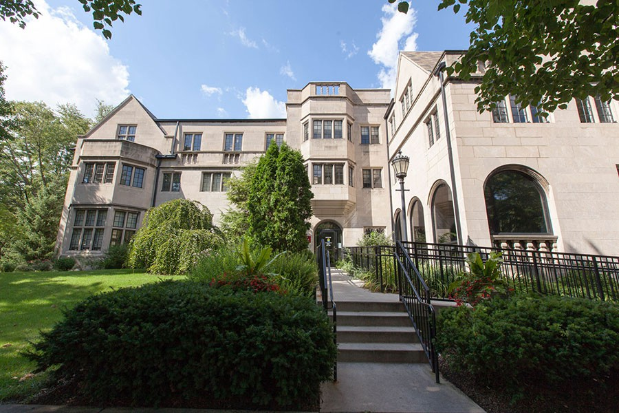 The Alumni House houses the University's Student Counseling Service.