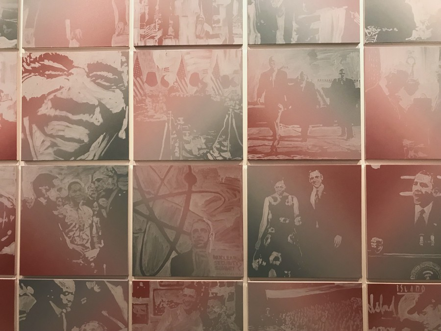 The paintings become an emotional reminder and tribute to a loved and well-respected leader, reflecting on Obama'scharacter and the impact of his presidency.