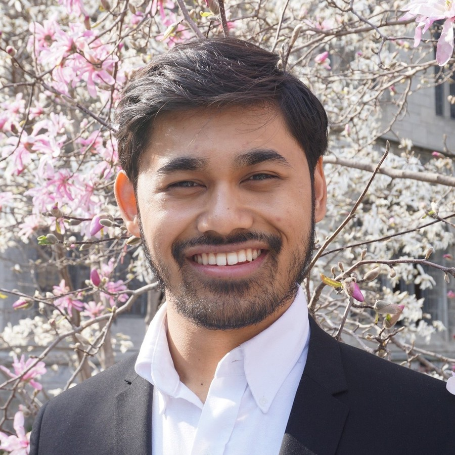 Dinesh Das Gupta, candidate for Undergraduate Liaison to the Board of Trustees.