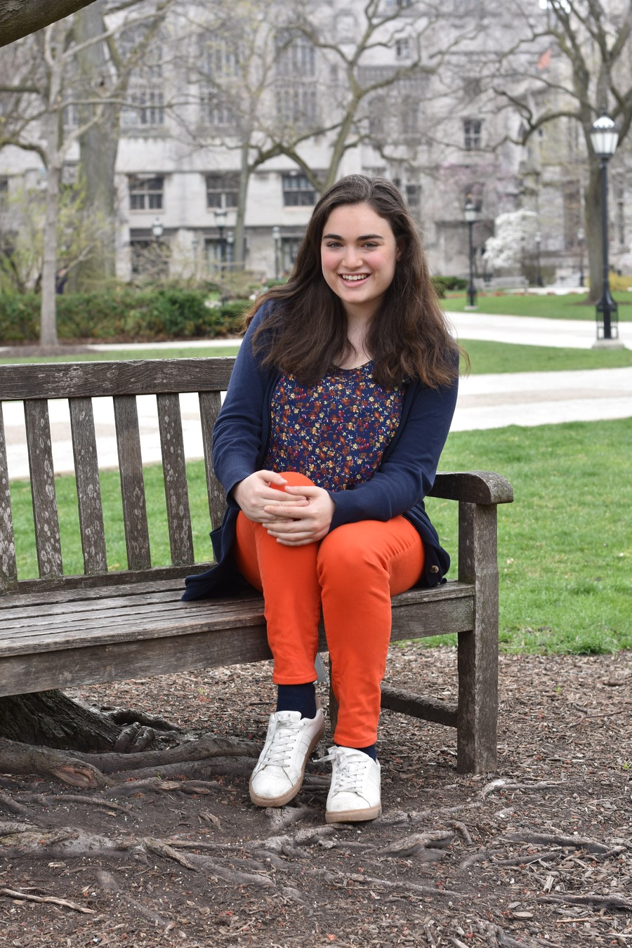 Third-year Rachel Abrams is running for Community and Government Liaison in the Spring 2019 SG elections.