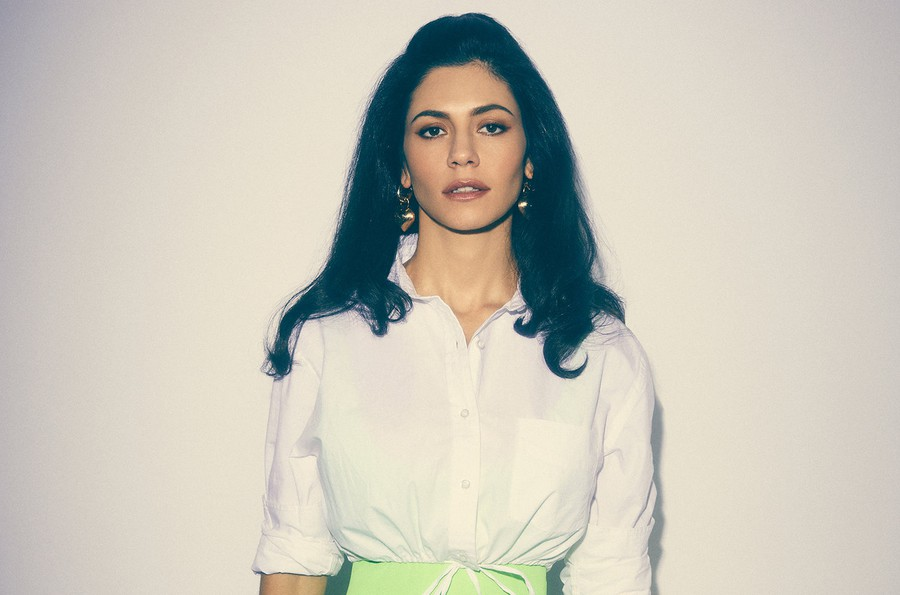 "Welsh singer Marina Diamandis released ""Love + Fear"" in April."